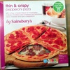 thin & crispy pepperoni pizza - Product