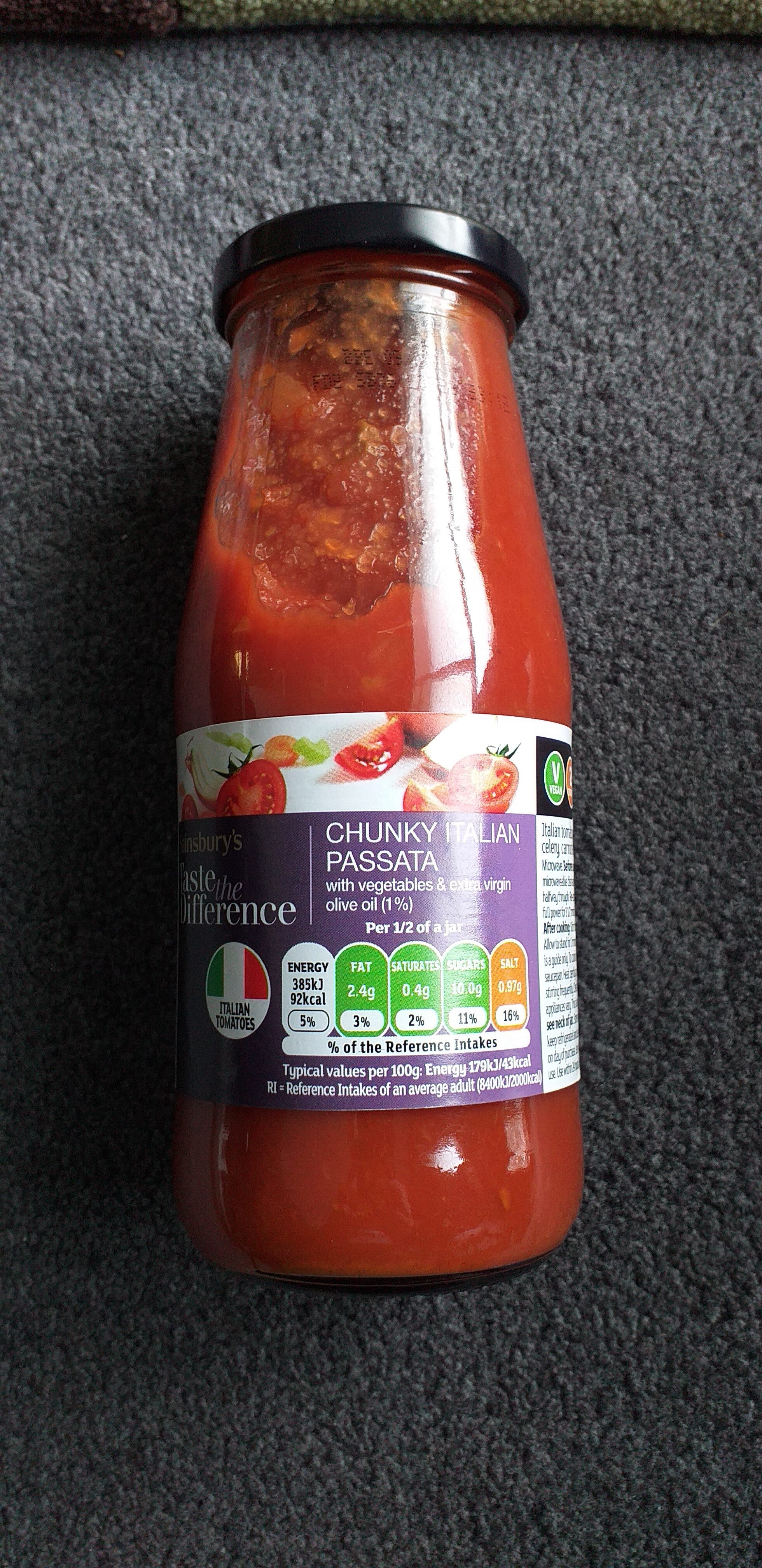 Chunky Italian Passata - Product