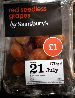 Red grapes - Product