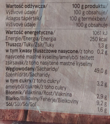 Tesco 5 Ciabatta Rolls - Informations nutritionnelles