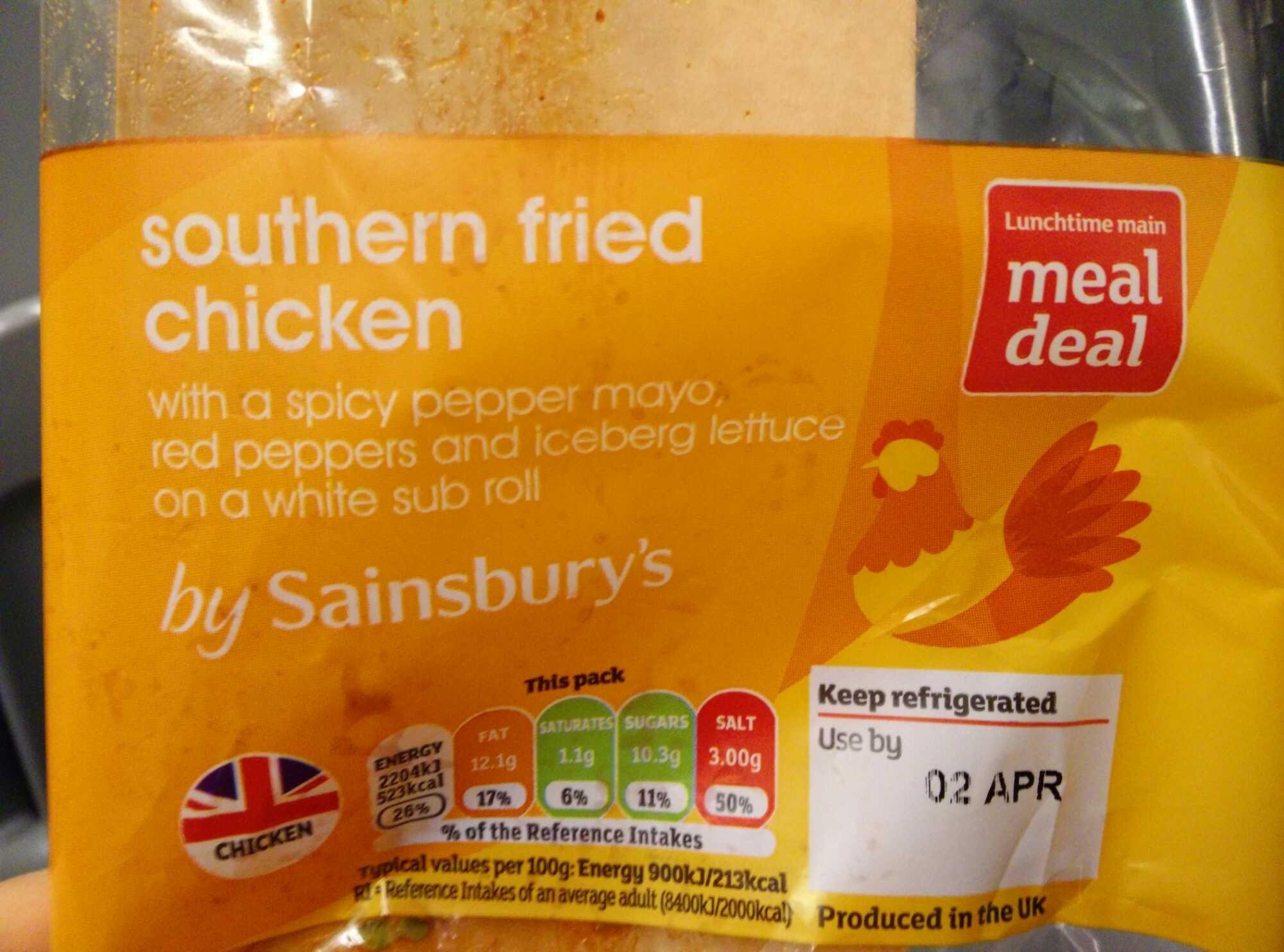Southern fried chicken - Produit - en