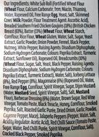 Southern fried chicken - Ingrédients - en