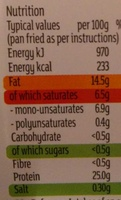 15% fat British Beef Mince - Nutrition facts - en