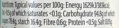 Multicoloured 100s & 1000s - Informations nutritionnelles - en