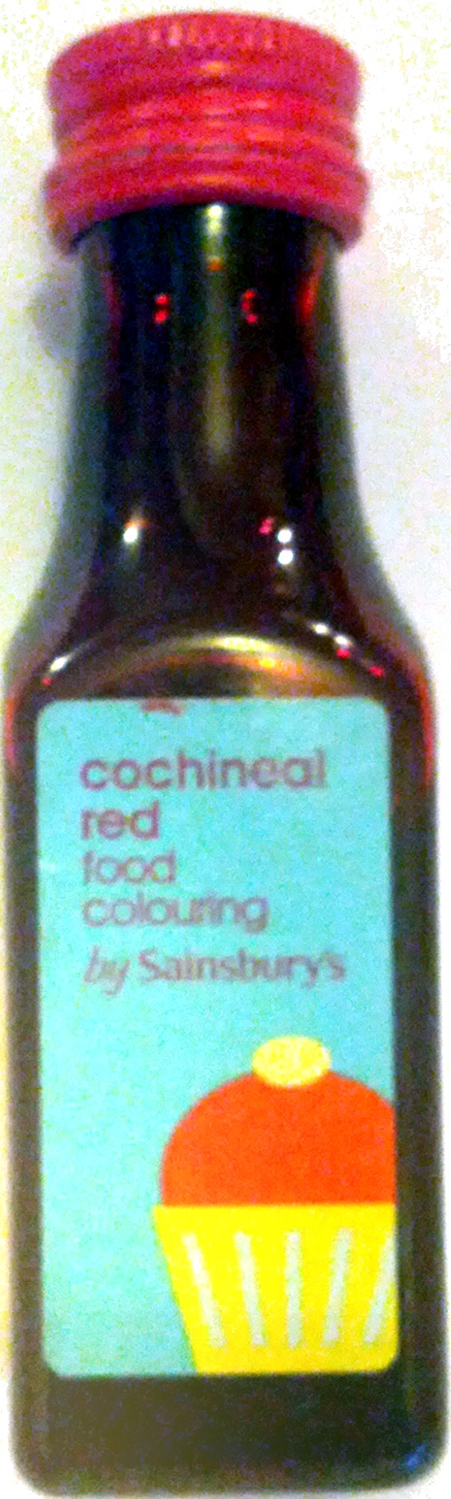 Cochineal Red Food Colouring - Product