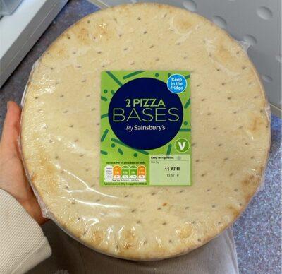 2 Pizza Bases - Prodotto - en