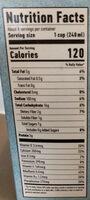 The original oat-milk - Informations nutritionnelles - en