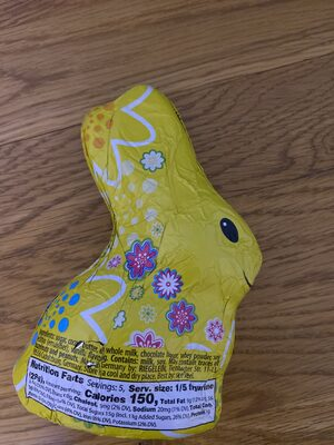 Fine hollow chocolate bunny - Nutrition facts - en