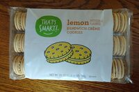 Lemon sandwich creme cookies - Product - en