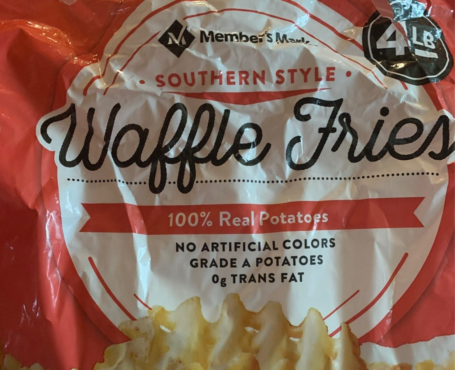 Southern style waffle fries, southern style - Product - en