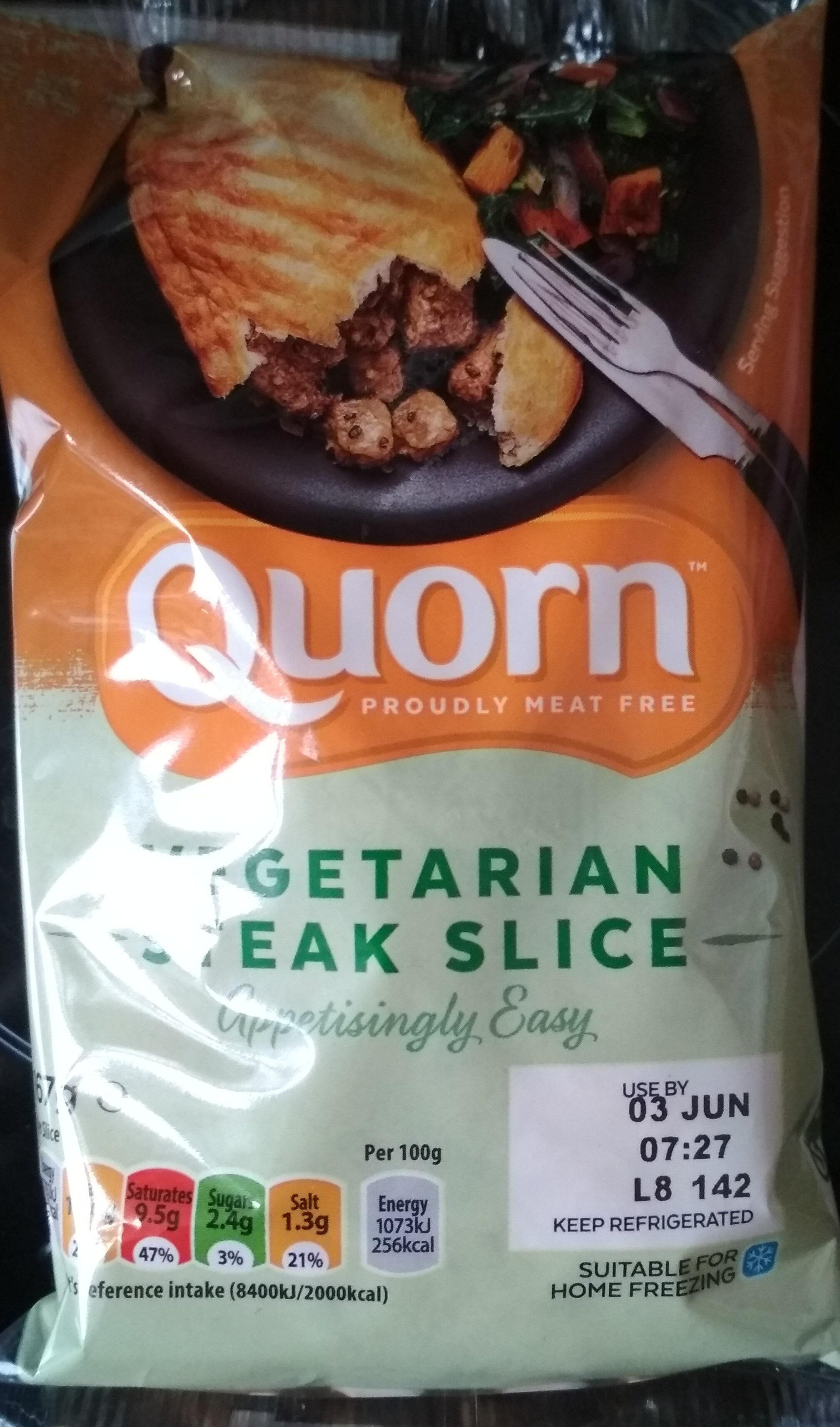Vegetarian steak slice - Produit - fr