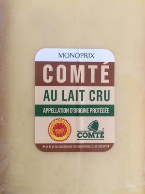 Comté Au Lait Cru (34 % MG) - Produit - fr