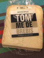 Tomme de brebis Monoprix - Prodotto - fr