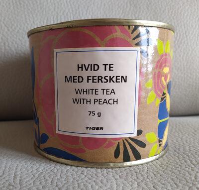 Hvid te med fersken - white tea with peach