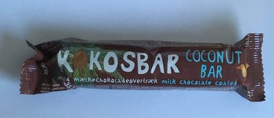 Coconut bar milk chocolate coated - Product - en