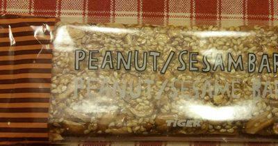 Peanut/ sesame bar - Produit - fr