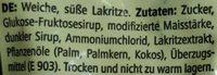 Lakridsknapper - Ingrediënten