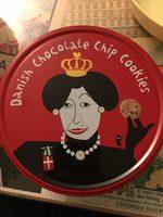 Danish chocolate chip cookies - Producto - en