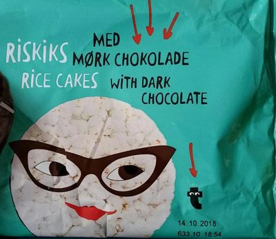 Riskis rice cakes et chocolat noir - Prodotto - fr