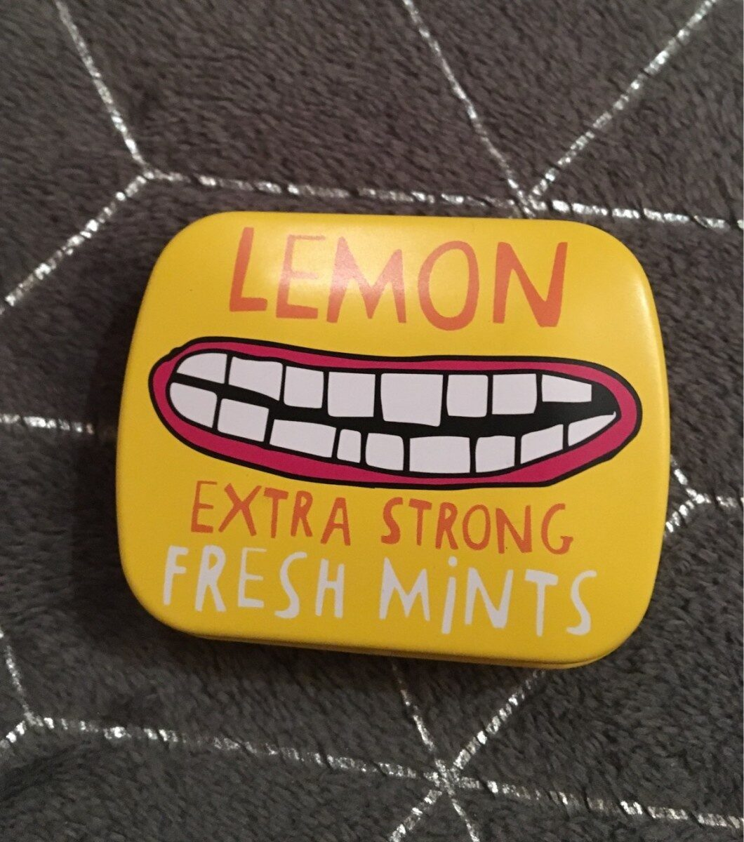 Lemon extra strong Fresh mints - Product