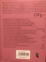 Milk chocolates salty caramel flavour - Información nutricional