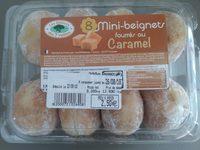 Mini beignets fourrés au caramel - Produit - fr