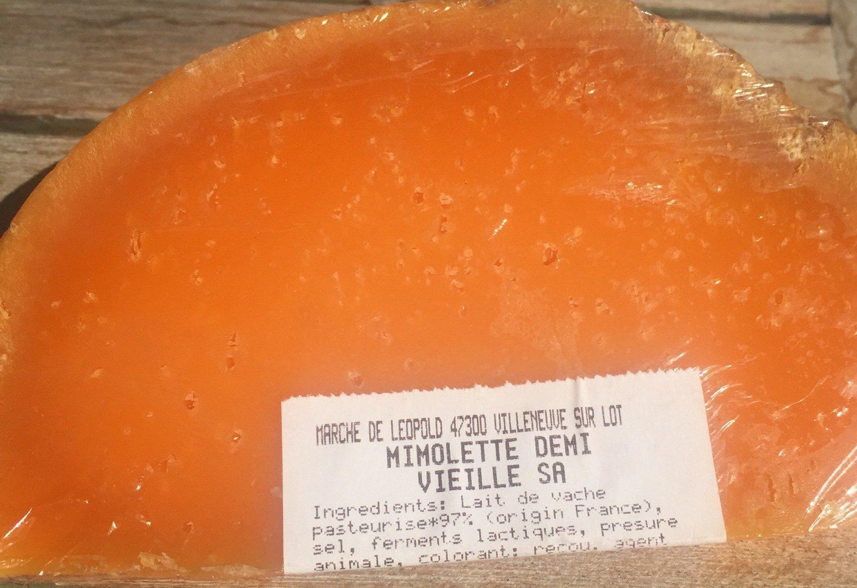 Mimolette demi-vieille - Produit
