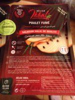 Poulet fume - Product - fr