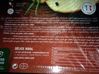 Poulet fume - Ingredients - fr