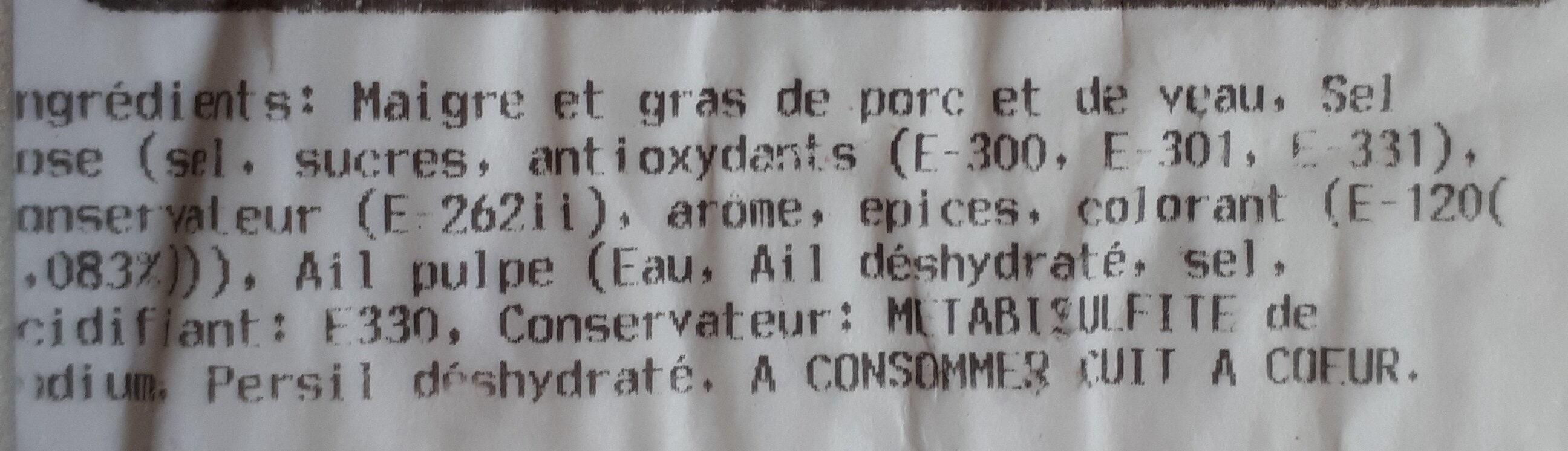 Farce à tomate - Ingredients - fr