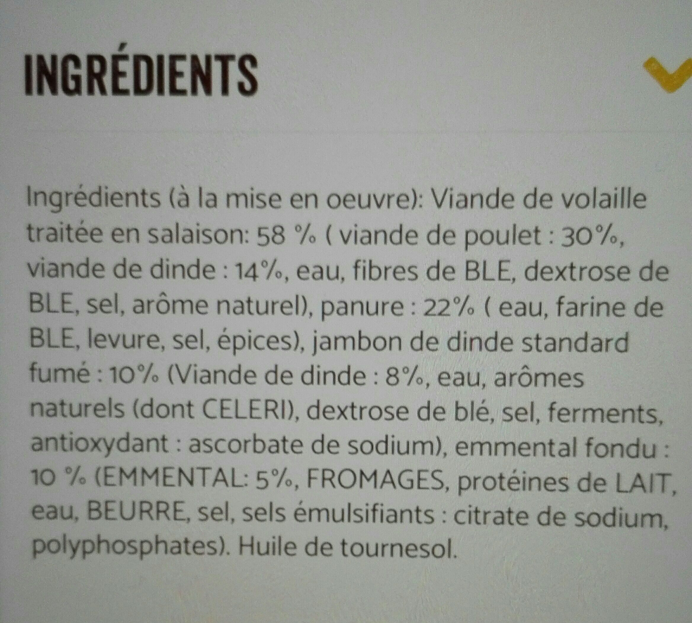 Cordon bleu - Ingrédients - fr