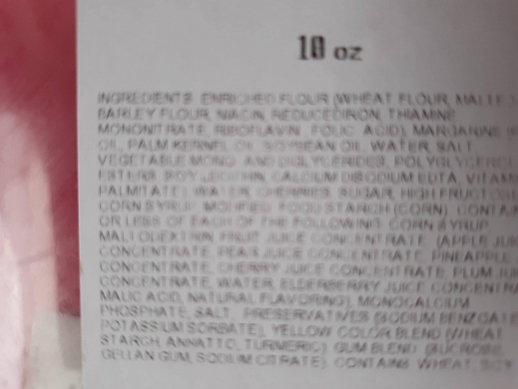 cherry turnover - Ingredients - en