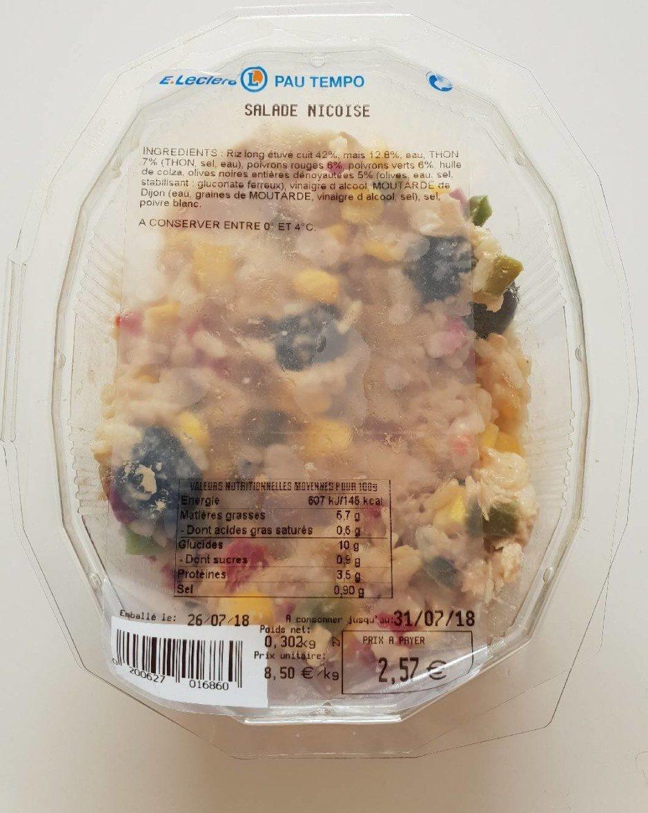 Salade niçoise - Produit - fr