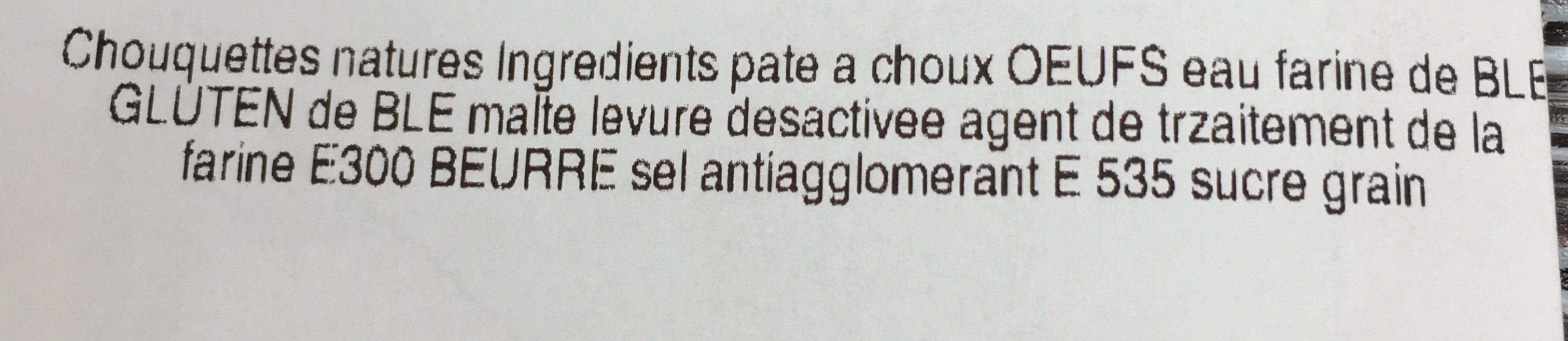 Couronne Pâte a Choux - Ingrédients - fr