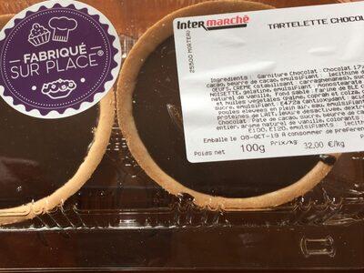 Tartelettes au chocolat - Product - fr