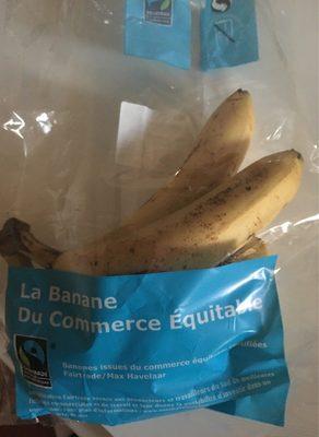 Lot de bananes issu du commerce equitable - Produit