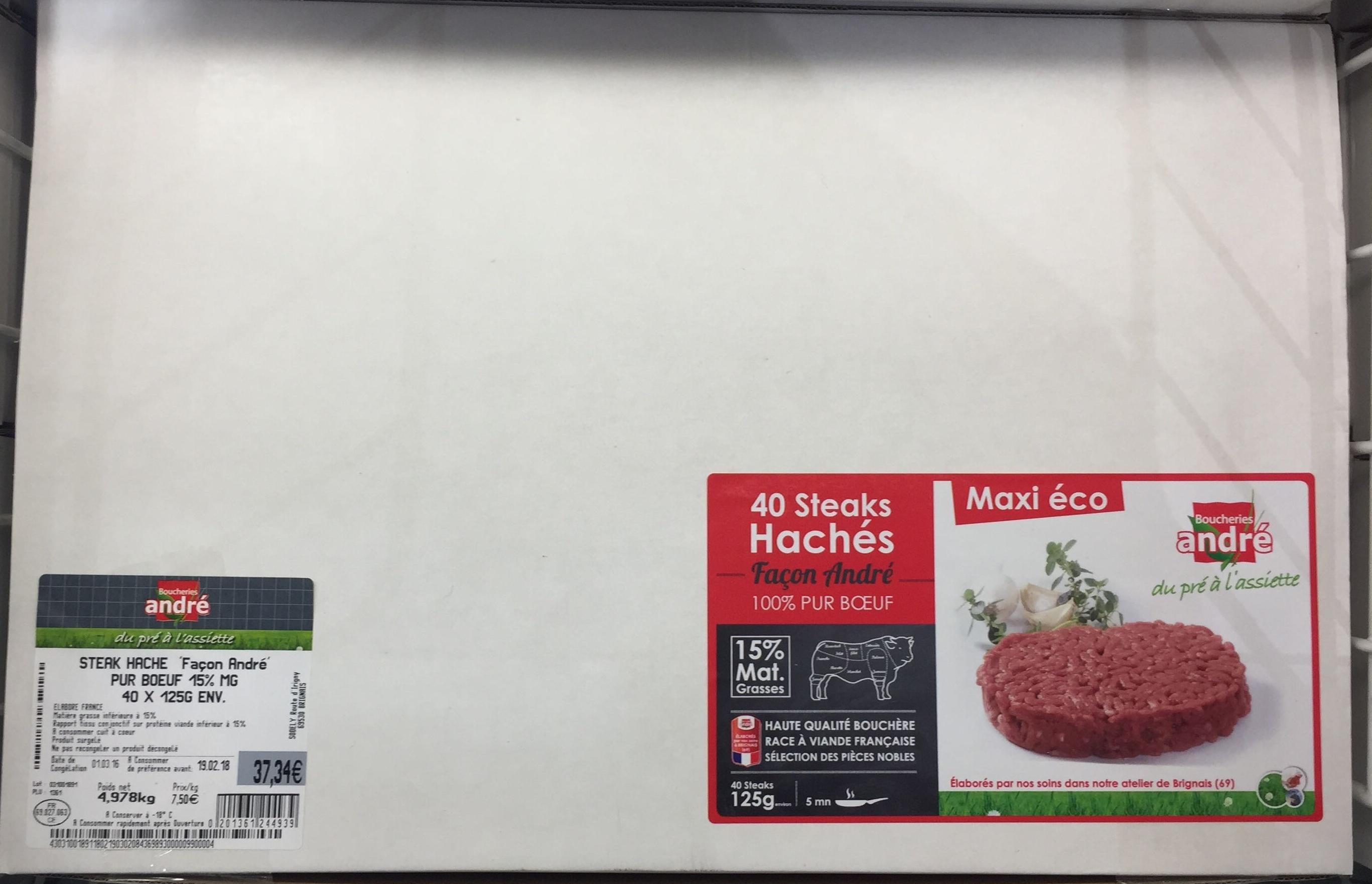 Steaks hachés - Produit