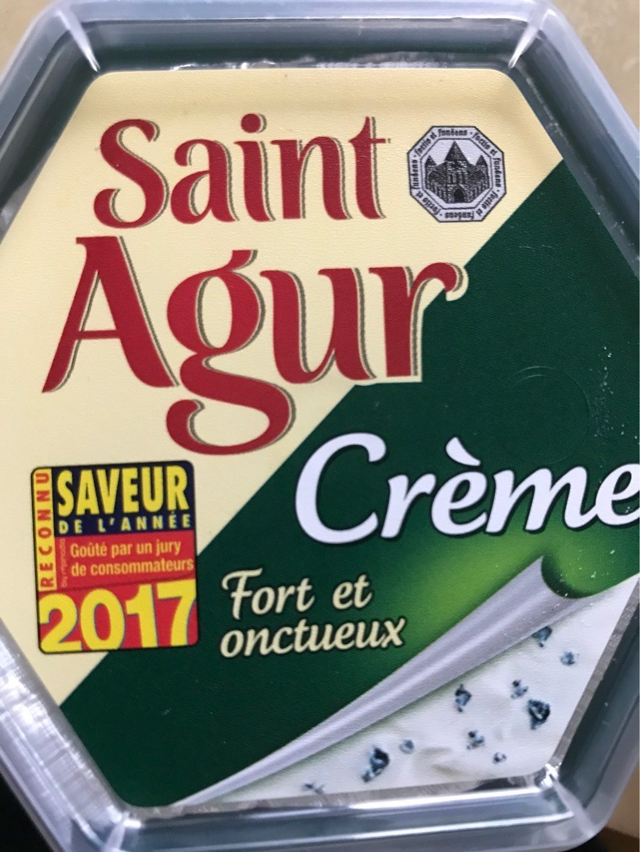 Saint Agur crème - Produit - fr