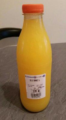 Jus d'orange frais pressé - Produit