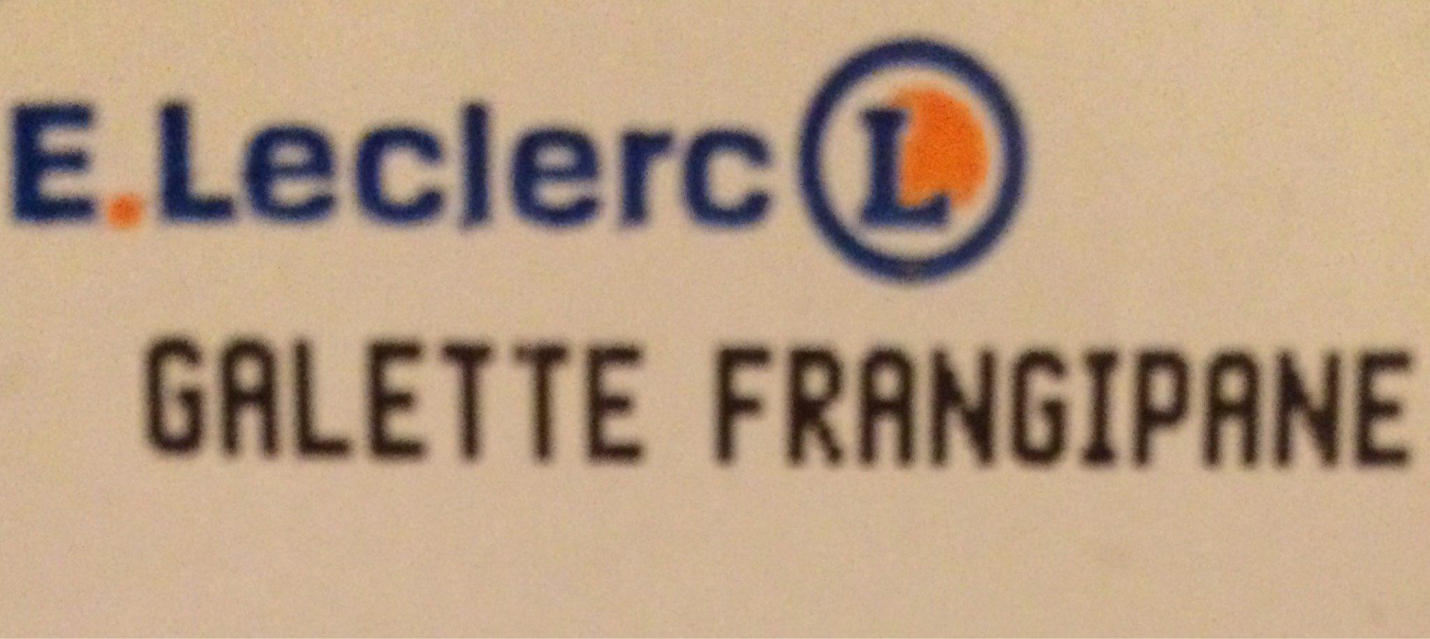 Galette Frangipane Indiv. - Produit - fr