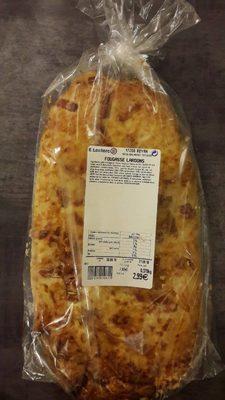Fougasse lardons - Product - fr