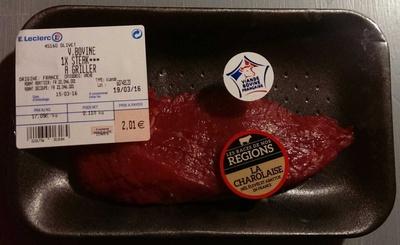 V. bovine 1x steak*** à griller - Product - fr