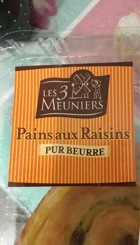 Pains aux raisins - Product