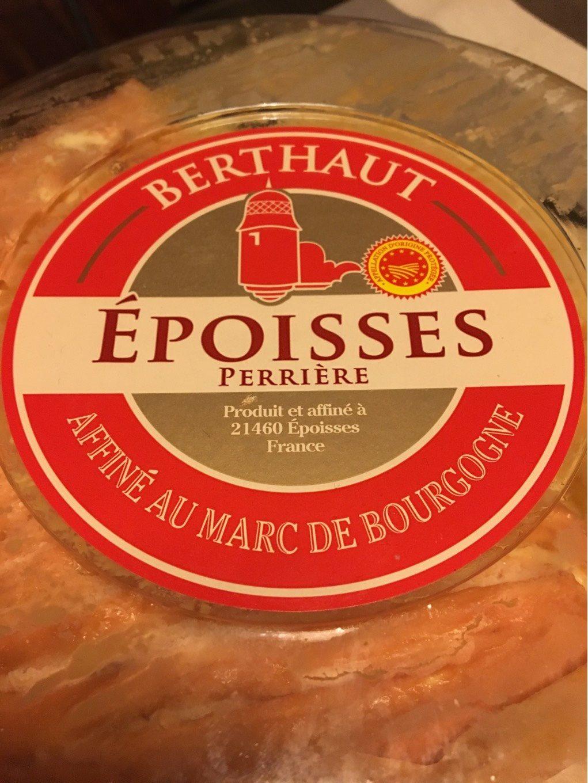 Epoisses - Product - fr
