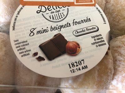 Mini beignets fourres - Produit - fr