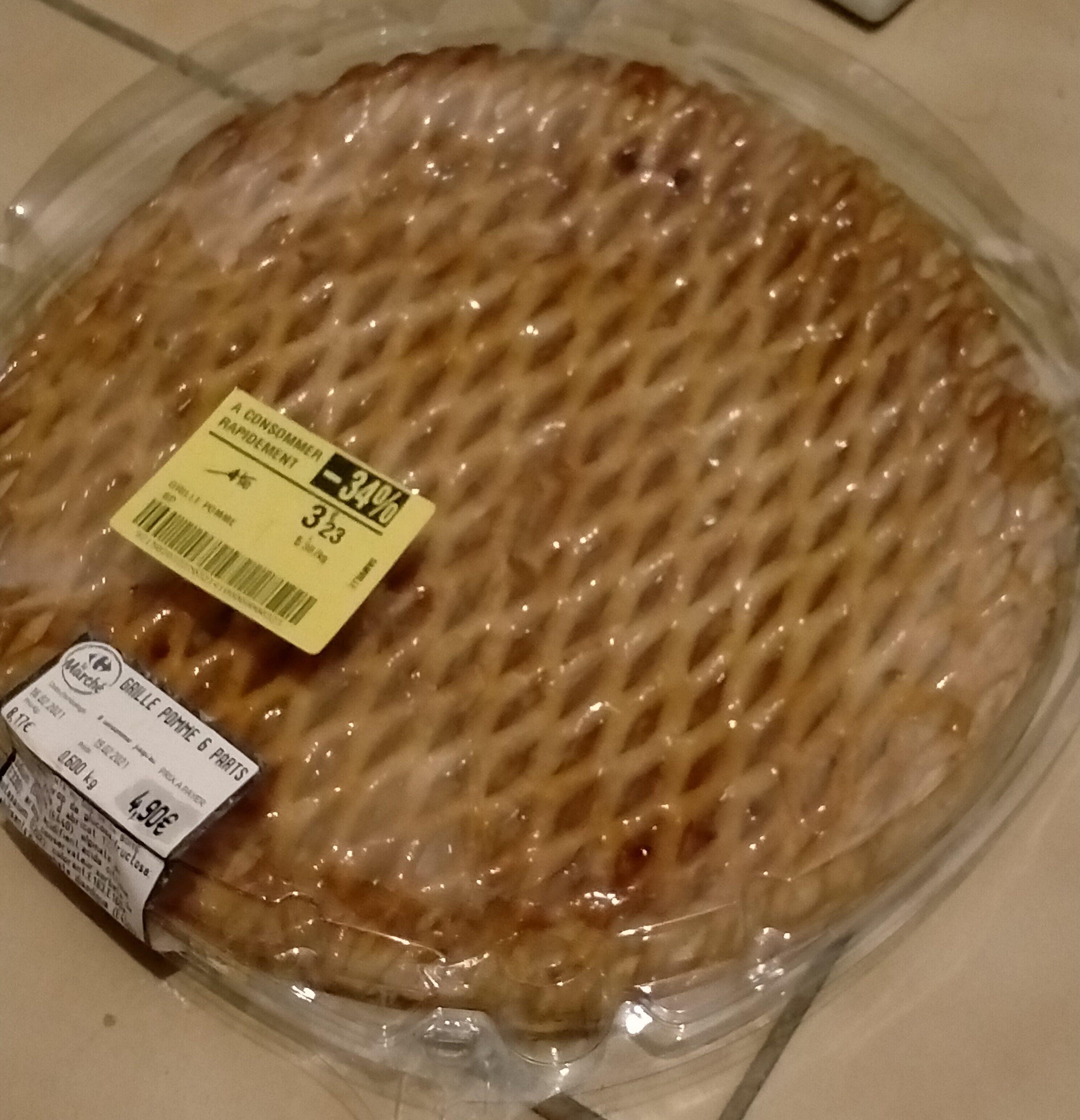 Grillé aux pommes 6 parts - Instruction de recyclage et/ou informations d'emballage - fr
