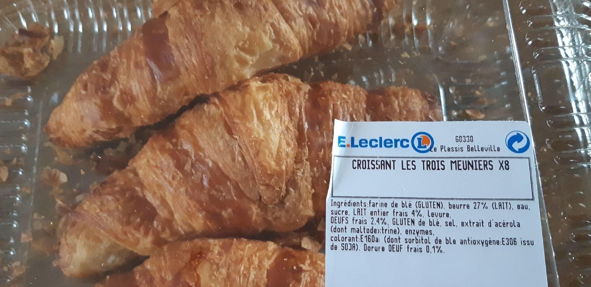 Croissants Les trois meuniers (E. Leclerc) - Product
