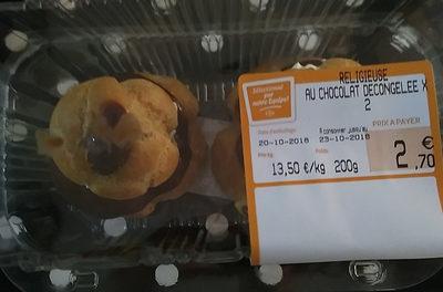 Religieuse au chocolat décongelée X 2 - Product