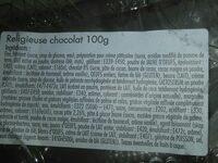 Religieuse au chocolat - Ingrediënten - fr