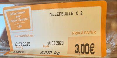 Millefeuille - Produit - fr